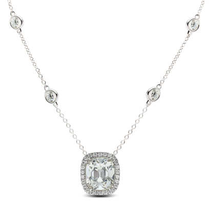 necklace-kate-halo-cushion-diamond-bezel-diamonds-platinum-steven-kirsch