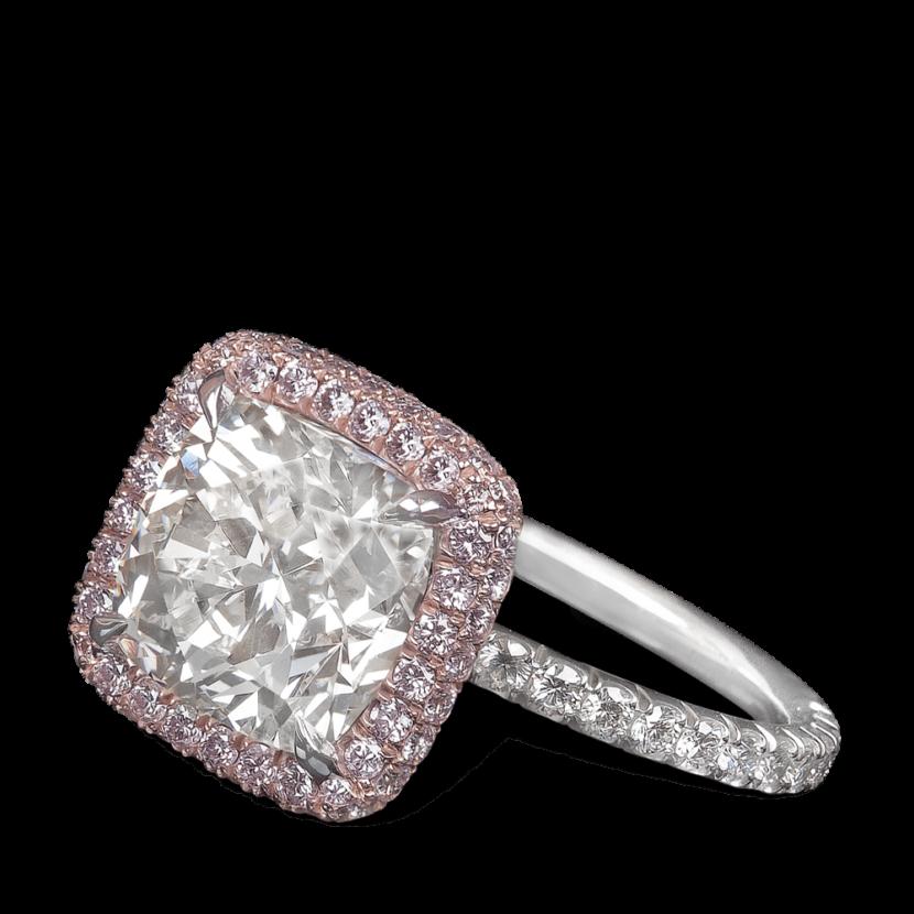 ring-anastasia-multirow-halo-pink-diamonds-curved-stems-pave-platinum-steven-kirsch-2