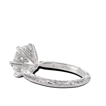 ring-francesca-round-diamond-six-prong-solitaire-engraving-vintage-platinum-steven-kirsch-04.png