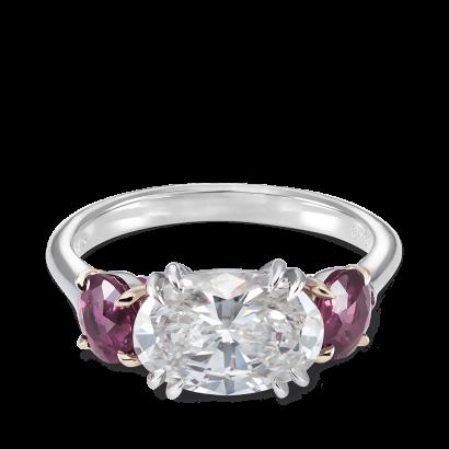 ring-trio-east-west-diamonds-ruby-platinum-gold-steven-kirsch-2