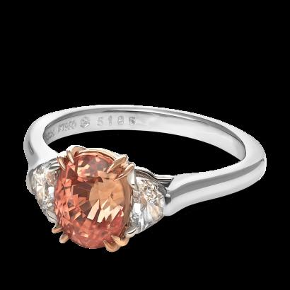 ring-trio-half-moon-diamonds-platinum-gold-padparadscha-three-stone-steven-kirsch-2