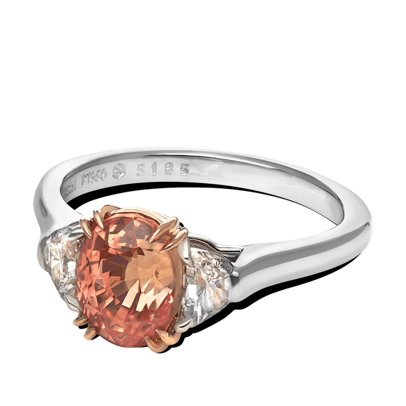 ring-trio-half-moon-diamonds-platinum-gold-padparadscha-three-stone-steven-kirsch-2.png