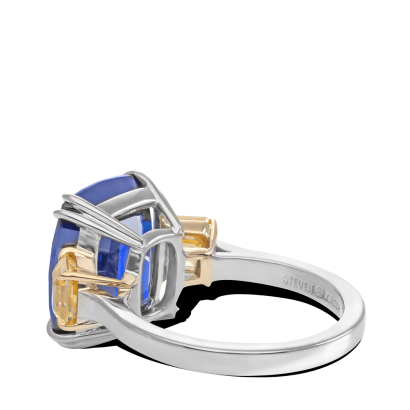 ring-Azul-cushion-sapphire-asscher-diamonds-three-stone-platinum-gold-steven-kirsch-1.png