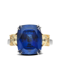 ring-Azul-cushion-sapphire-asscher-diamonds-three-stone-platinum-gold-steven-kirsch-3