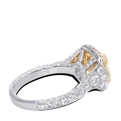 ring-Fleurdelis-cushion-diamond-halo-pave-platinum-gold-steven-kirsch-2.png