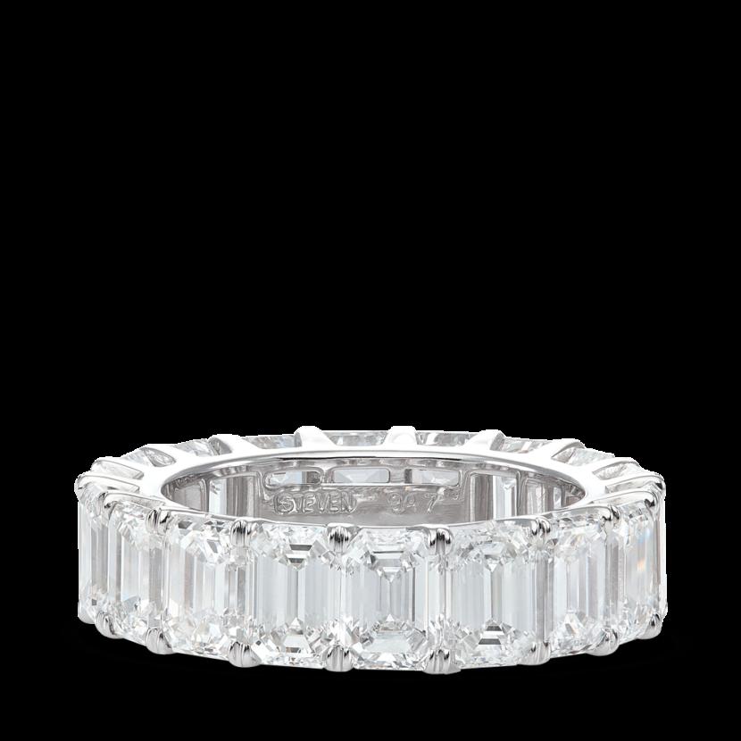 ring-eternity-lowset-emerald-cut-diamonds-wedding-band-platinum-steven-kirsch-new-1