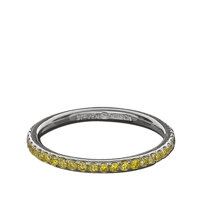 ring-infinity-eternity-wedding-band-yellow-diamonds-pave-platinum-steven-kirsch
