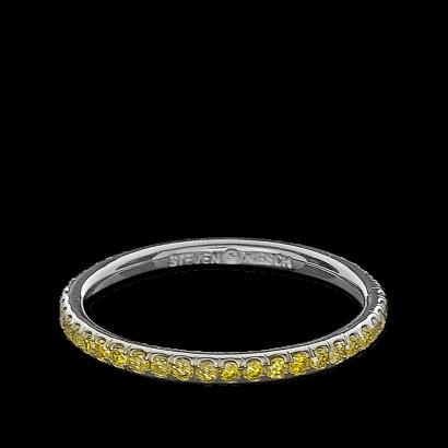 ring-infinity-eternity-wedding-band-yellow-diamonds-pave-platinum-steven-kirsch