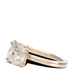 ring-Classic-Four-Prong-cushion-diamond-solitaire-gold-steven-kirsch-3