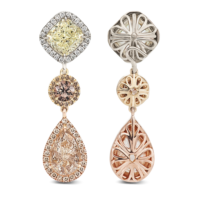 earrings-arc-en-ciel-yellow-cushion-diamond-brown-diamond-champagne-pear-diamond-platinum-gold-dangle-earrings-steven-kirsch-01