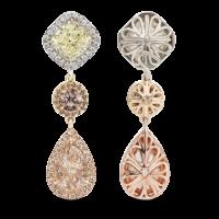 earrings-arc-en-ciel-yellow-cushion-diamond-brown-diamond-champagne-pear-diamond-platinum-gold-dangle-earrings-steven-kirsch-01