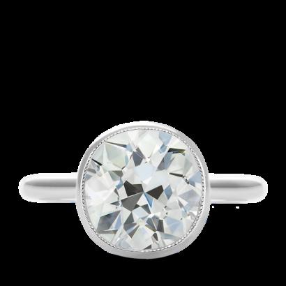 ring-gemma-antique-round-diamond-bezel-set-miligrain-platinum-steven-kirsch-01.png
